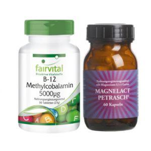 Vitamin B12 & Magnelact