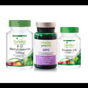 Vitamin B12 & Vitamin D3 & OPC